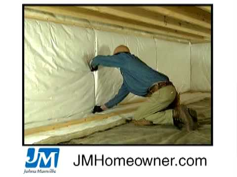 Insulating Unvented Crawl Spaces