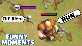 clash of clans funny moments videos