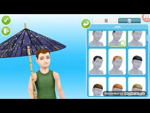 Sims freeplay Part 6 - Aging the toddler's to preteens
