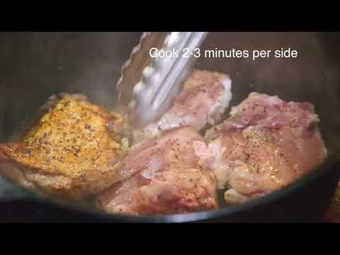 How to Braise Organic, Free-Range Chicken (ButcherBox Chicken Thighs | Braise)