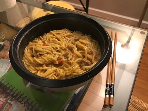The Bachelor's Kitchen. The rice-cooker pasta.S01E01