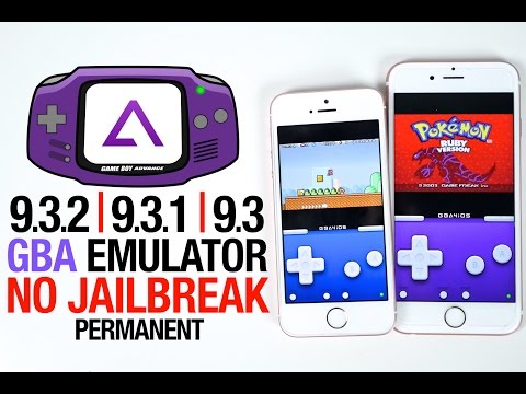 Install GBA Emulator on 9.3.1/9.3.2 FREE! GBA4iOS No Jailbreak & Permanent