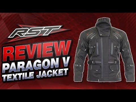 RST Paragon V Textile Jacket Review | Sportbike Track Gear