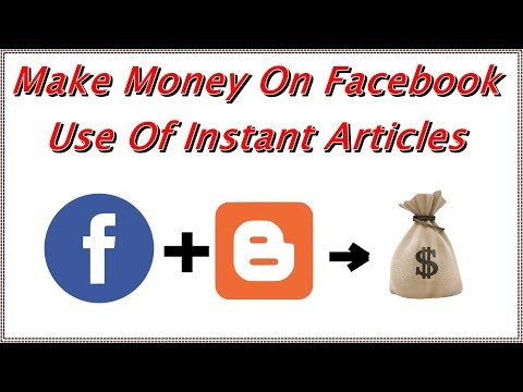 How To Setup Facebook Instant Articles For Blogger [HINDI] ||  Earn Money From Fb Audience Network