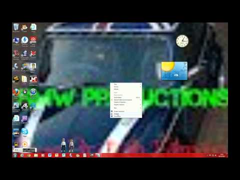 how to : make a screen saver and gagets on windows 7