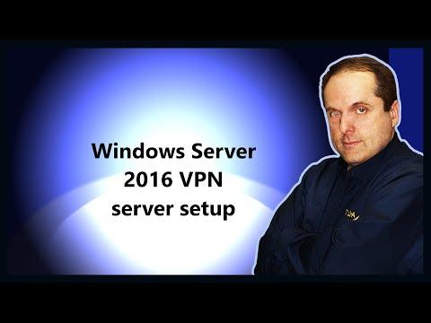 Windows Server 2016 VPN server setup
