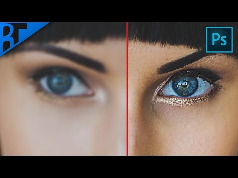 ► How to Sharpen Images in photoshop