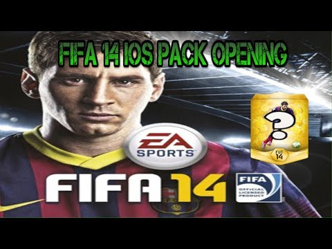 Fifa 14 iOS pack opening 1,400 fifa points
