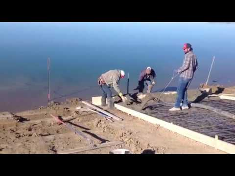 Huber Concrete boat ramp project!