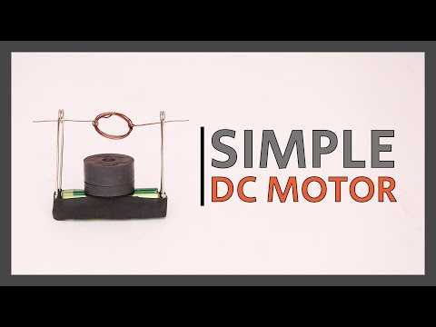 Science Project (DIY) | How to build a Simple DC MOTOR