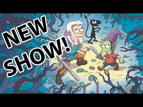FIRST LOOK: New Animated Matt Groening Netflix Show 'Disenchanted'
