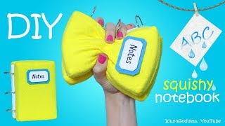 Download How To Make A Squishy Notebook Stress Reliever With Washable Pages – DIY Squishy Notebook Video