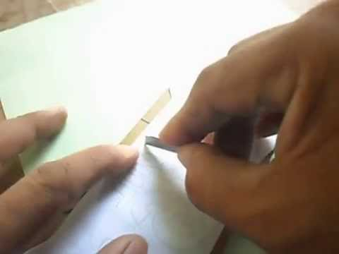 How to make temporary Motor Plate (DIY)