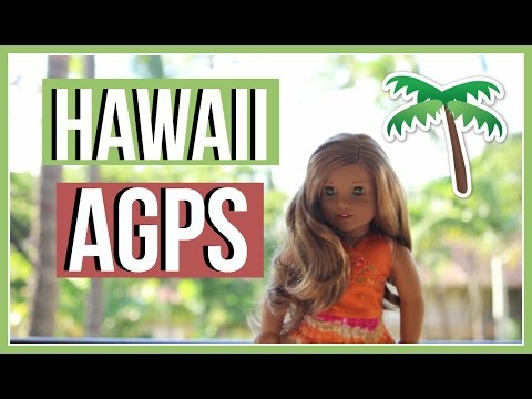 HAWAII AGPS | American Girl Doll Hawaii Photoshoot