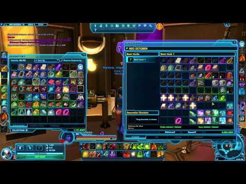SWTOR: How Our Guild Banks Work