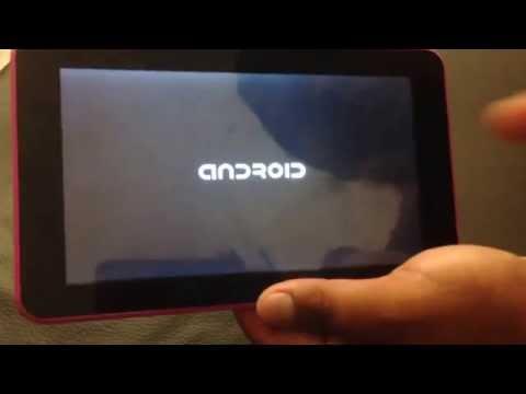 Hard Reset Tableta Polaroid PMID71C