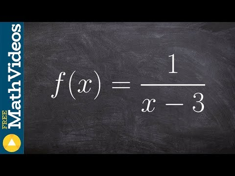 Learn the steps to finding the inverse of the reciprocal function