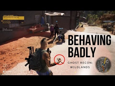 Behaving Badly in Ghost Recon: Wildlands (Funny Moments and Fails)