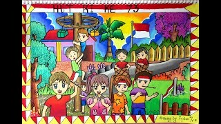 93+ Gambar Anak Tk Tema Kemerdekaan Terlihat Keren