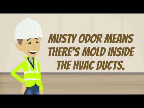 If There's Musty Odor Coming from the Air Vents, Clean the Ducts - TIP | Air Duct Cleaning Sausalito