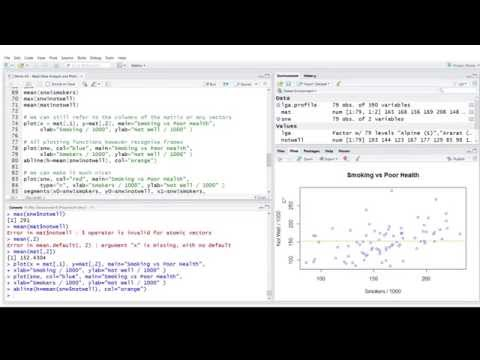 R Introduction: Data Analysis and Plotting