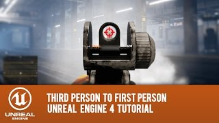 UE4 How to retarget first person arms and third person