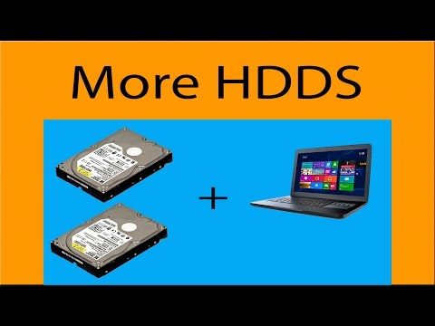 Install a 2nd HDD in your laptop PC