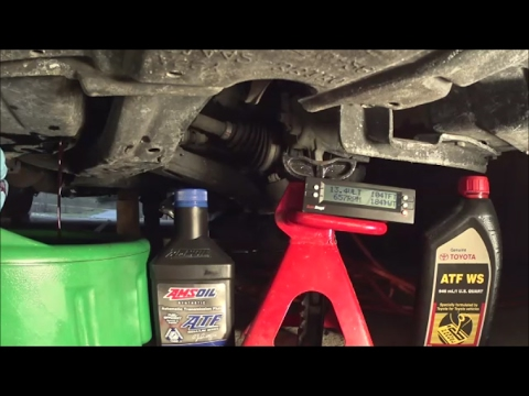 Simple way to check/replace WS ATF in TOYOTA/LEXUS using scangauge. Changing WS ATF to Amsoil ATF.