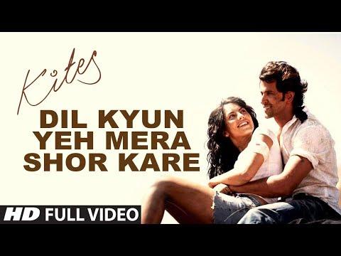 Xxx Mp4 Kites Dil Kyun Yeh Mera Shor Kare Full Song HD Hrithik Roshan Bárbara Mori 3gp Sex