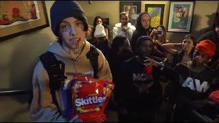 Lil Xan took over an EDM show