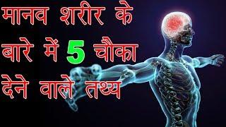 मानव शरीर के बारे में  5 चौंका देने वाले तथ्य | Top 5 Staggering Facts About The Human Body