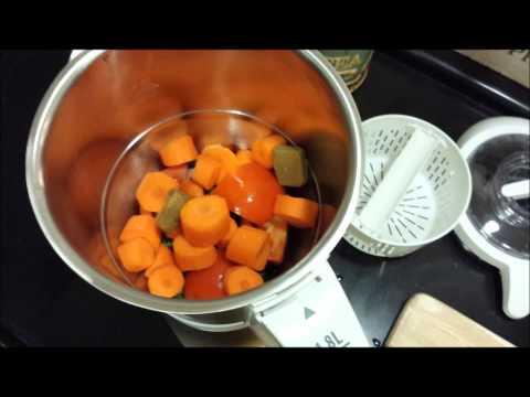 Lentil soup using Moulinex Soup & Co. شوربة العدس