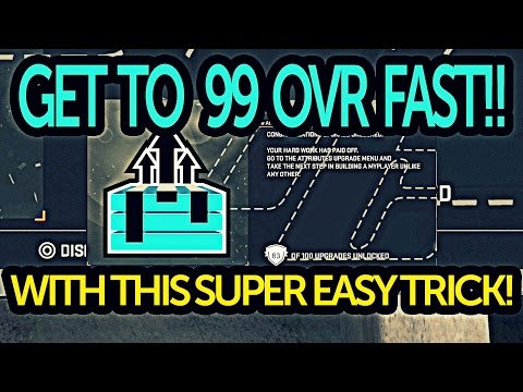 NBA 2K15 Get Your MyPlayer To 99 Overall Fast Unlock All Upgrades Glitch!!