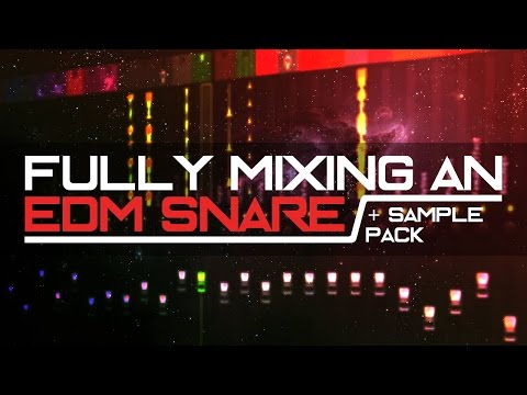 How to make a Fat EDM Snare | FL Studio Tutorial + Free Snare Sample Packs