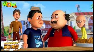 Motu Patlu New Episode | Cartoons | Kids TV Shows | Motu Ka Fan | Wow Kidz