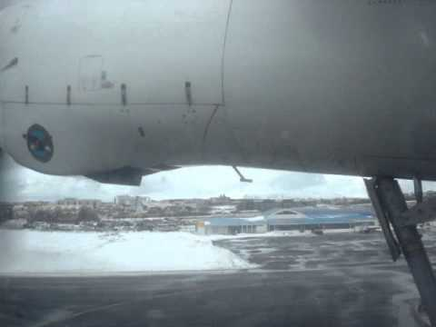 Air Iceland Fokker 50 Takeoff (RKV-AEY)