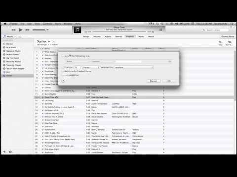 How to Make Smart Playlist in iTunes