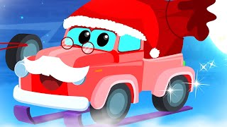 Here Comes Mister Santa | X'mas Rhymes for Children | Zeek And Friends Cartoon Videos