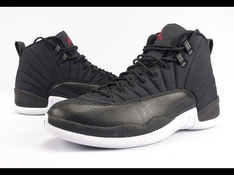 new concept 8ee32 bc99b Air Jordan 12 Black Nylon Neoprene Review + On Feet