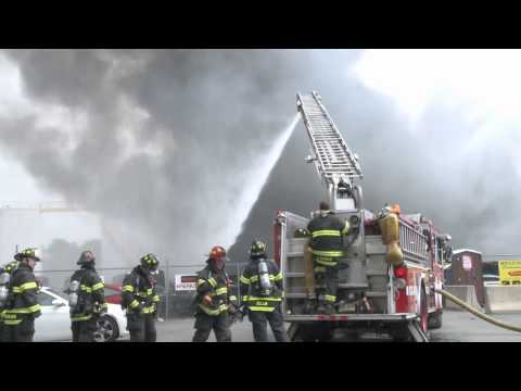 2nd Alarm Building Fire, N. Plymouth St. Allentown, PA  06.04.15