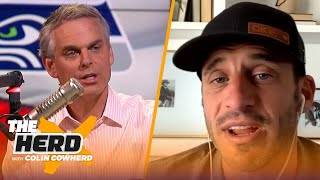 Doug Gottlieb isn't against Antonio Brown in Seattle, talks return of NBA & 'The Match' | THE HERD