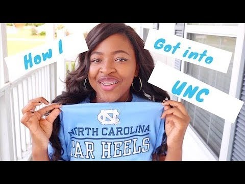 How I got into UNC Chapel Hill⎜My Story & REAL College Admission Advice⎜DymondStar