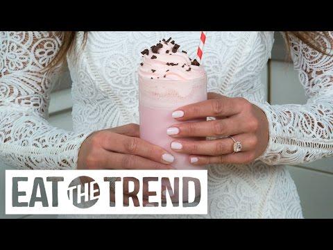 Starbucks' Love Bean Frappuccino Recipe | Eat The Trend