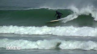 Goomer Surfing Mid January 2017 Hull, MA