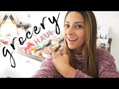 ALDI GROCERY HAUL - UK MAY 2018   Weekly Food Shop On A Budget   Ysis Lorenna
