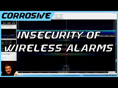 Wireless Alarm/Security Systems are NOT Secure | Listening to an OOK Signal from a 2GIG Door Sensor