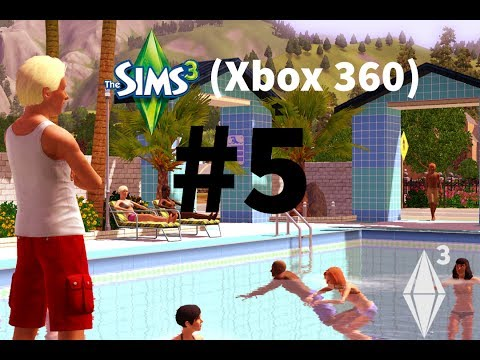 The Sims 3 Xbox W/HowToCameron - The Sims 3 Xbox 360- Part 5- Free Money!