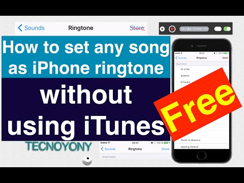 How to set any song as iPhone ringtone without using iTunes