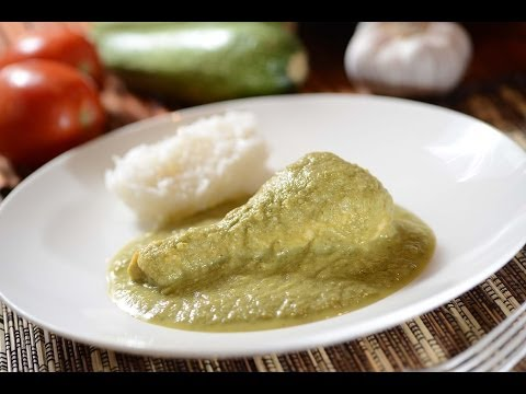 Chicken in green mole - How to cook