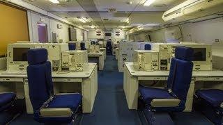 Guided Tour Inside the E-4B NAOC Doomsday Plane